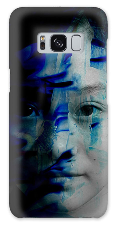 Free Galaxy S8 Case featuring the painting Free Spirited Creativity by Christopher Gaston
