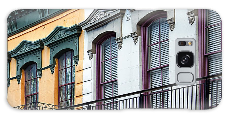 French Quarter Galaxy S8 Case featuring the photograph French Quarter Balconies by Kathleen K Parker