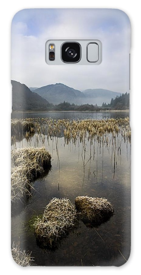Frost Galaxy S8 Case featuring the photograph Frosty Winters Morning, Lower Lake by Peter McCabe
