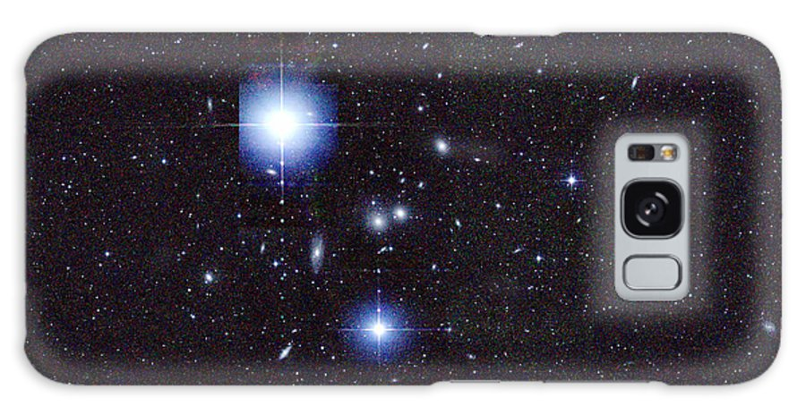 2mass Galaxy S8 Case featuring the photograph Galaxy Cluster Abell 1060, Infrared by 2MASS project NASA