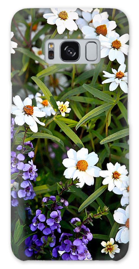 Flowers Galaxy S8 Case featuring the photograph Garden Flowers by Steve McKinzie