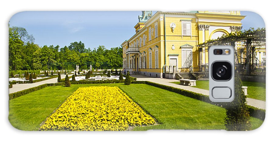 Wilanow Palace Galaxy S8 Case featuring the photograph Gardens Wilanow Palace by Jon Berghoff