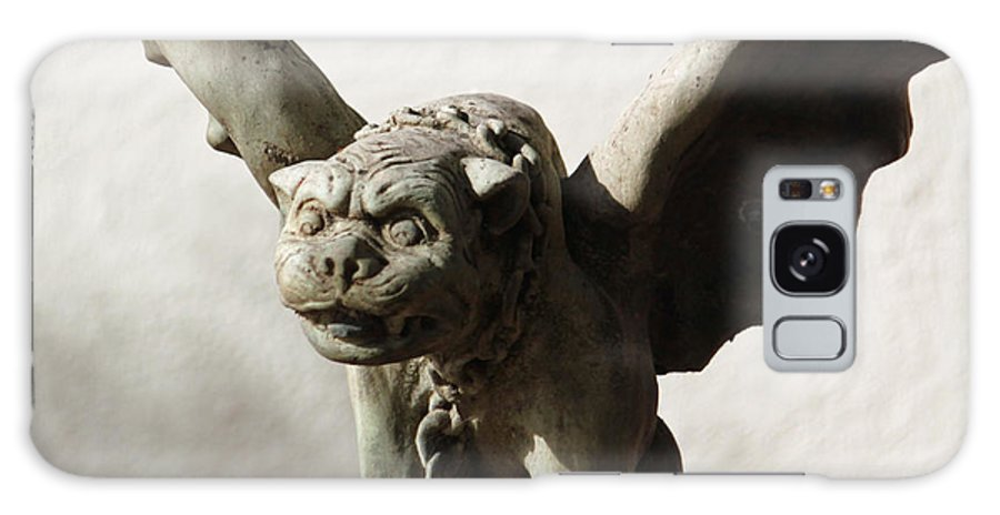 Fine Art Galaxy S8 Case featuring the photograph Gargoyle Close Up by Suzanne Gaff
