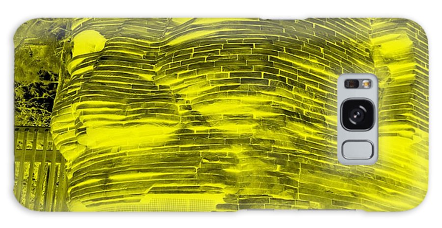 Architecture Galaxy S8 Case featuring the photograph Gentle Giant In Negative Yellow by Rob Hans