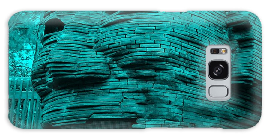 Architecture Galaxy S8 Case featuring the photograph Gentle Giant In Turquois by Rob Hans