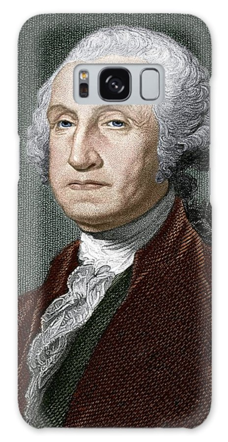 George Washington Galaxy S8 Case featuring the photograph George Washington, First Us President by Sheila Terry