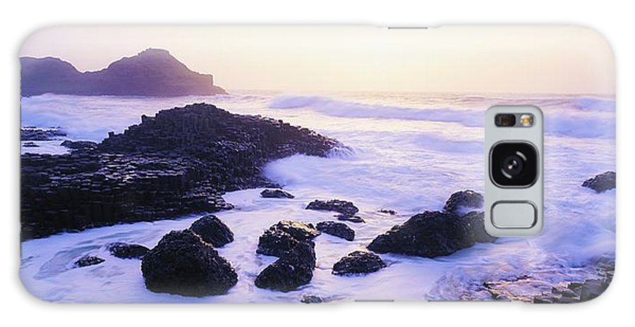 Beach Galaxy S8 Case featuring the photograph Giants Causeway, Co Antrim, Ireland by The Irish Image Collection