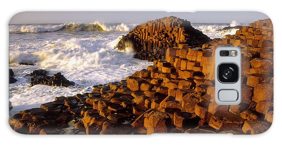 Sea Galaxy S8 Case featuring the photograph Giants Causeway, County Antrim, Ireland by The Irish Image Collection
