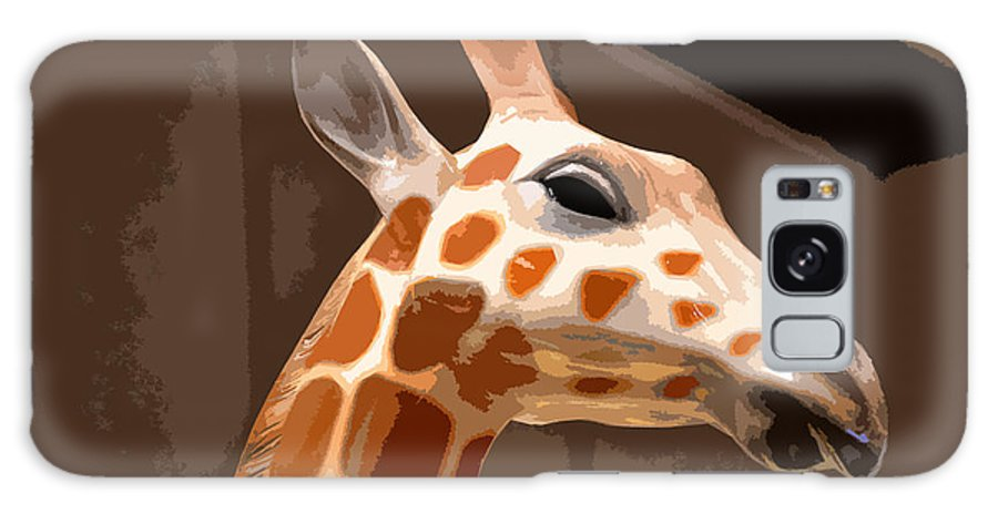 Giraffe Galaxy S8 Case featuring the photograph Giraffe by Bill Owen