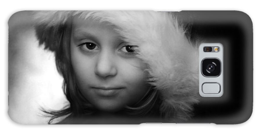 Portrait Galaxy S8 Case featuring the photograph Girl With Hat by Ron Jones
