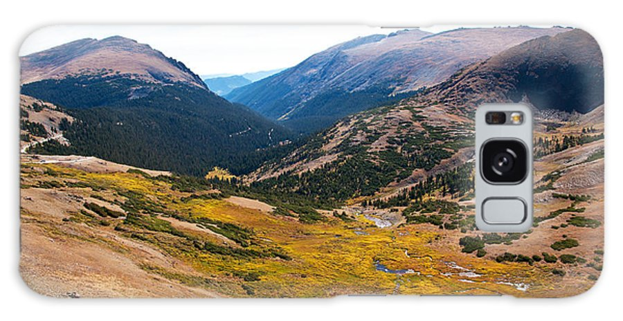 Cirque Galaxy S8 Case featuring the photograph Glacier Cirque - Rocky Mountain National Park by Bob and Nancy Kendrick