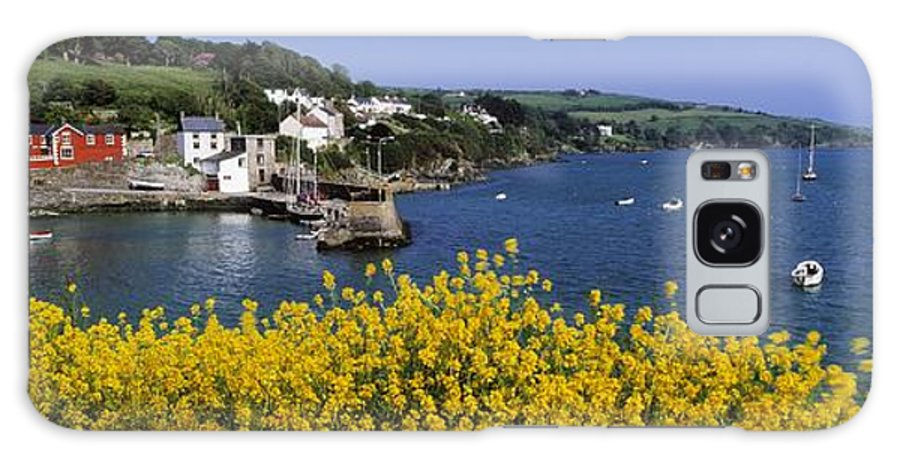 Communities Galaxy S8 Case featuring the photograph Glandore Village & Harbour, Co Cork by The Irish Image Collection