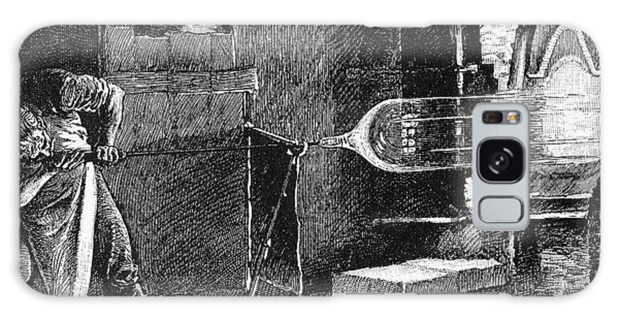 19th Century Galaxy S8 Case featuring the photograph Glassworker, 19th Century by Granger