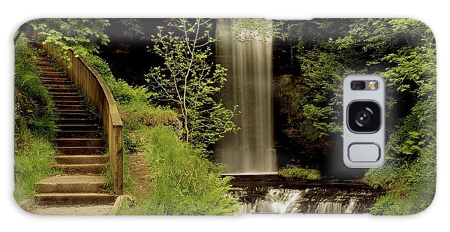 County Leitrim Galaxy S8 Case featuring the photograph Glencar Waterfall, County Leitrim by Richard Cummins