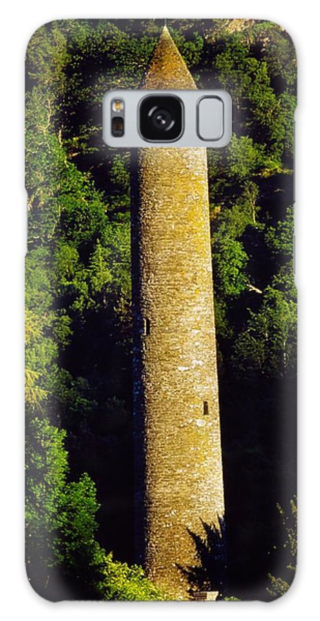 Co Wicklow Galaxy S8 Case featuring the photograph Glendalough, Co Wicklow, Ireland Round by The Irish Image Collection