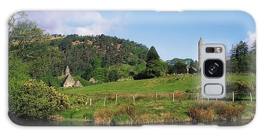 Co Wicklow Galaxy S8 Case featuring the photograph Glendalough, Co Wicklow, Ireland Saint by The Irish Image Collection