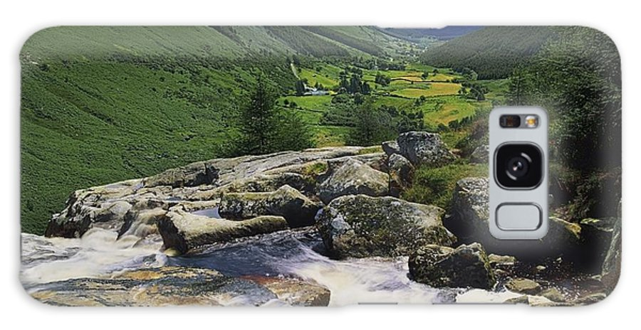 County Wicklow Galaxy S8 Case featuring the photograph Glenmacnass, County Wicklow, Ireland by The Irish Image Collection