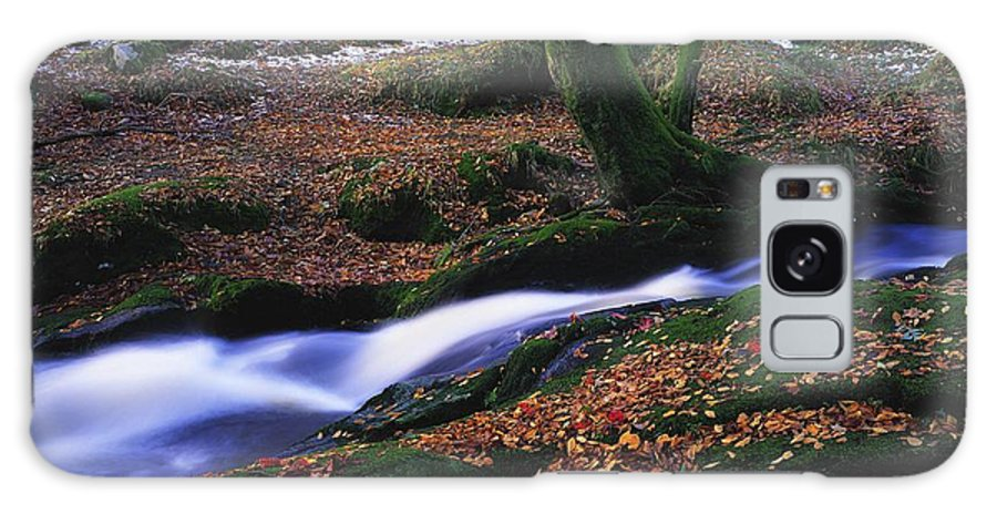 Co. Waterfall Galaxy S8 Case featuring the photograph Glenmacnass Waterfall, Co Wicklow by The Irish Image Collection