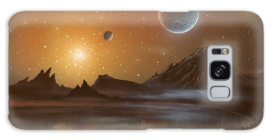 Planet Galaxy S8 Case featuring the photograph Globular Cluster, Artwork by Richard Bizley