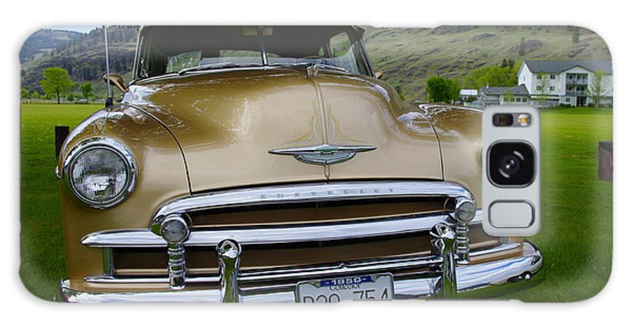 1950 Galaxy S8 Case featuring the photograph Golden Chevy by John Greaves