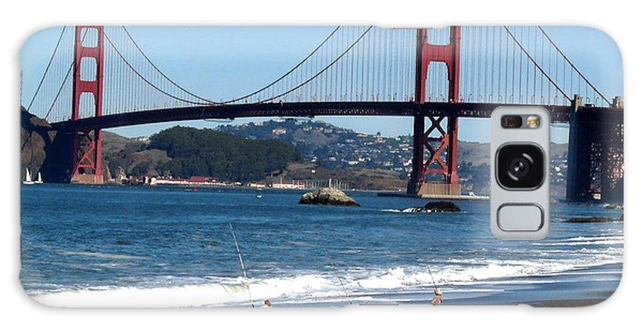 Golden Gate Bridge Galaxy S8 Case featuring the photograph Golden Gate Bridge by Jeff Lowe