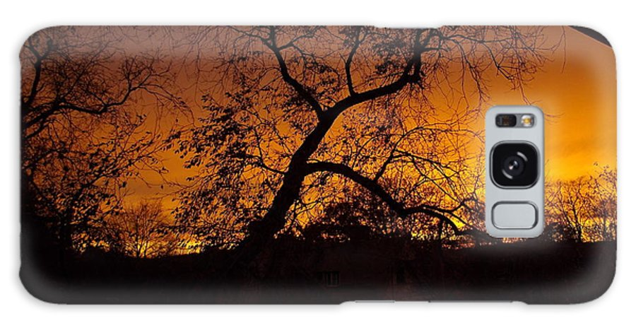 Golden Sunset Galaxy S8 Case featuring the photograph Golden Sunset by Sarah Lamoureux