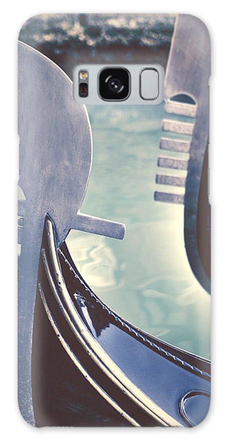 Swords Galaxy S8 Case featuring the photograph gondolas - Venice by Joana Kruse