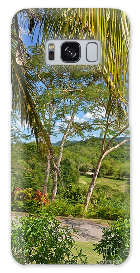 Jamaica Galaxy S8 Case featuring the photograph Good Hope Estate Jamaica by Carol Bradley