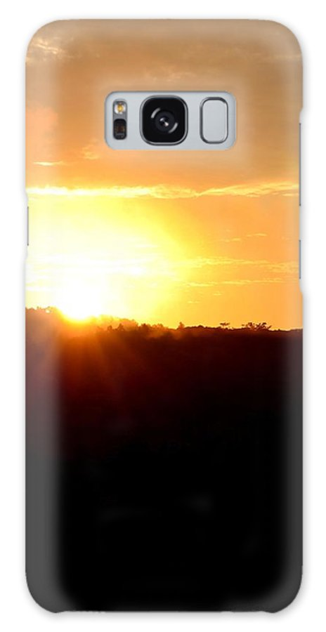 Morning Galaxy S8 Case featuring the photograph Good Morning Holy Spirit by Maria Urso