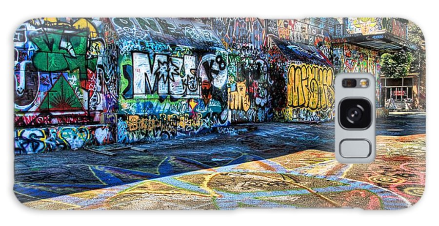 Seattle Galaxy S8 Case featuring the photograph Graffiti Playground by Spencer McDonald