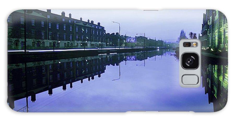 Blue Sky Galaxy S8 Case featuring the photograph Grand Canal, Portobello, Dublin, Co by The Irish Image Collection
