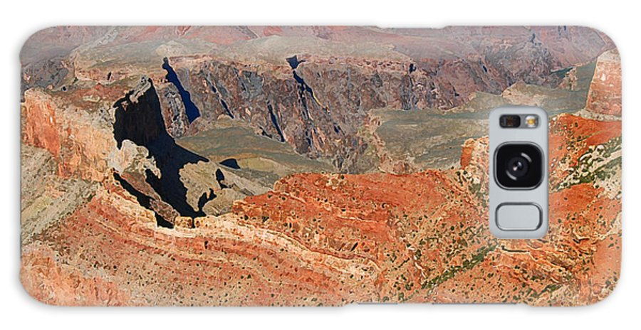 Grand Canyon Galaxy S8 Case featuring the digital art Grand Canyon National Park 3 by Eva Kaufman