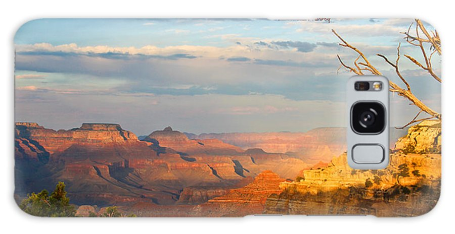 Edward Abbey Galaxy S8 Case featuring the photograph Grand Canyon Splendor - With Quote by Heidi Smith