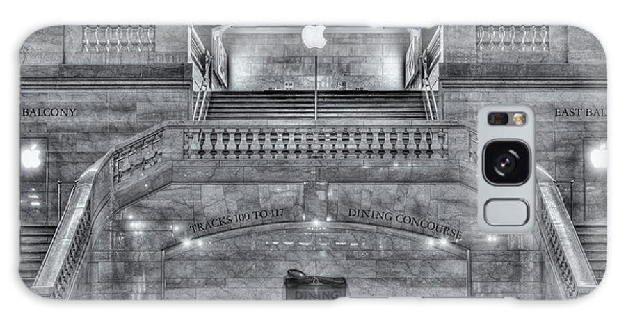 Clarence Holmes Galaxy S8 Case featuring the photograph Grand Central Terminal East Balcony II by Clarence Holmes