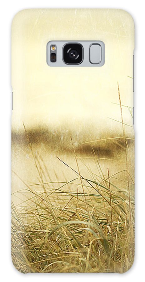 Beach Galaxy S8 Case featuring the photograph Gray Day At The Beach by Rebecca Cozart