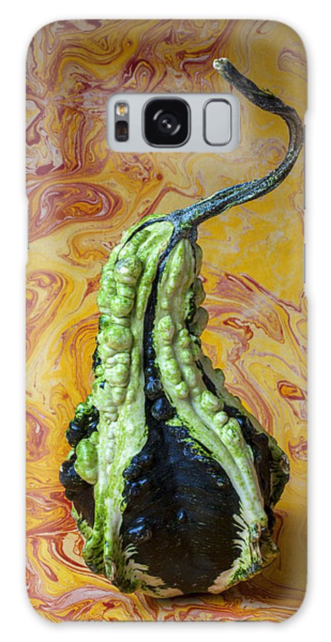 Green Galaxy S8 Case featuring the photograph Green Gourd by Garry Gay
