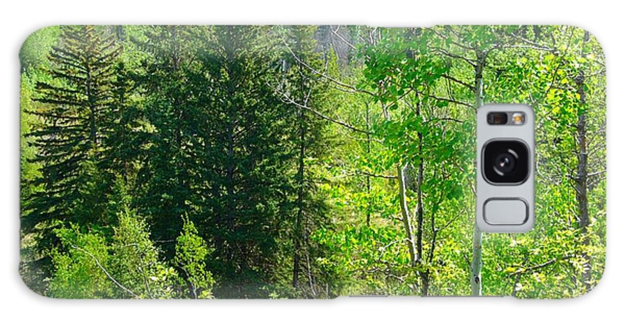 Forests Galaxy S8 Case featuring the photograph Green by Jim Sauchyn