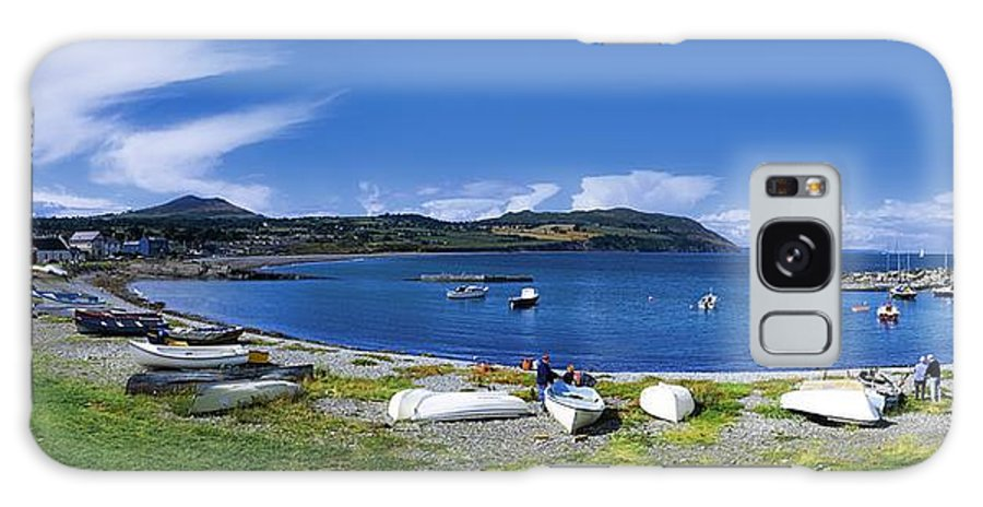 Bay Galaxy S8 Case featuring the photograph Greystones, Co Wicklow, Ireland by The Irish Image Collection