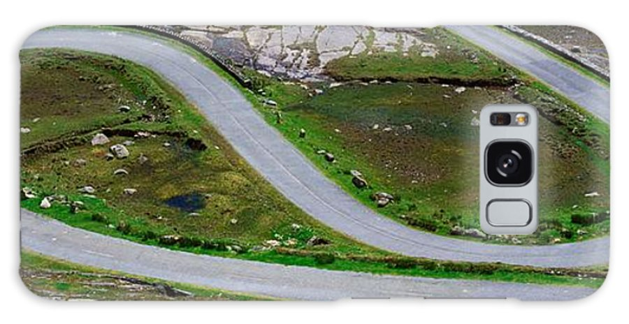 Automobiles Galaxy S8 Case featuring the photograph Hairpin Bends In The, Healy Pass, Beara by The Irish Image Collection