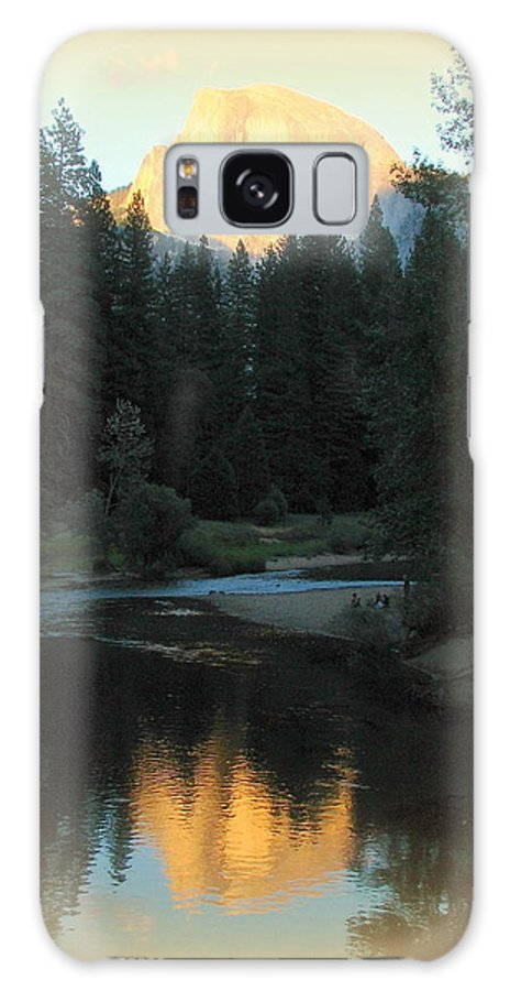 Yosemite Galaxy S8 Case featuring the photograph Half Dome At Sunset by Carla Parris
