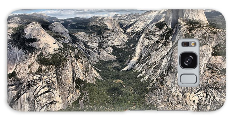 Half Dome Galaxy S8 Case featuring the photograph Half Dome Valley by Adam Jewell