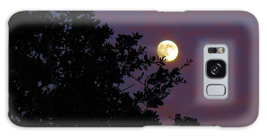 Moon Galaxy S8 Case featuring the photograph Halloween Moon 2009 by Joyce Dickens