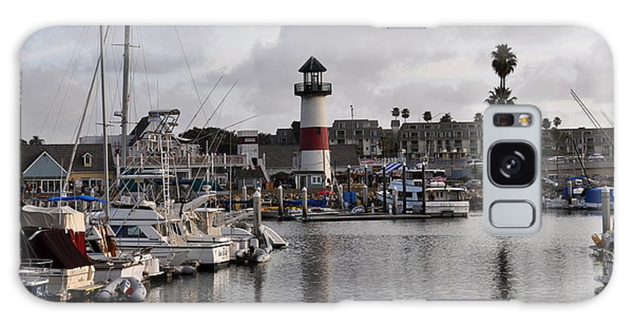 Oceanside Galaxy S8 Case featuring the photograph Harbor Lighthouse by Bridgette Gomes