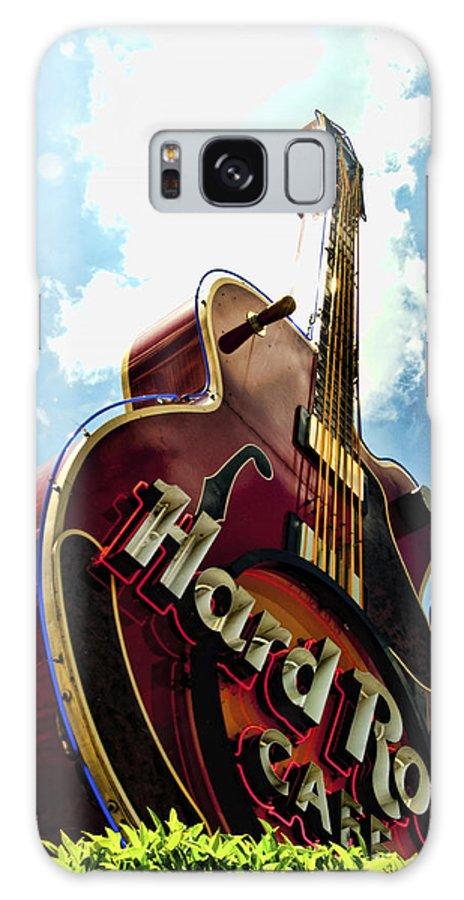 Guitar Galaxy S8 Case featuring the photograph Hard Rock Guitar by Sheri Bartoszek