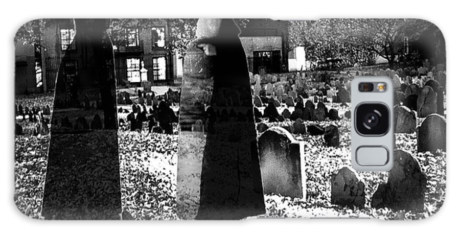 Haunted Galaxy S8 Case featuring the photograph Haunted Cemetery by Diana Haronis