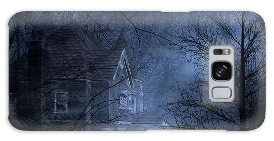 Abandoned Galaxy S8 Case featuring the digital art Haunted Place by Svetlana Sewell