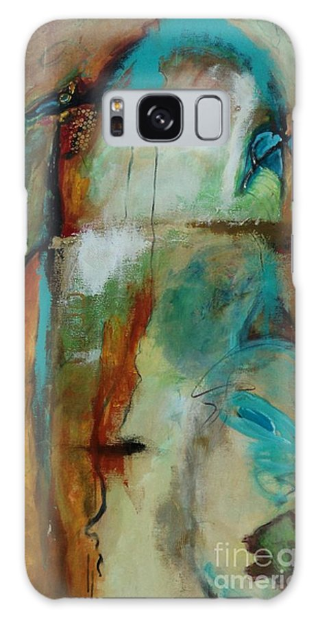 Abstracts Galaxy S8 Case featuring the painting Havasau Falls by Catron Wallace