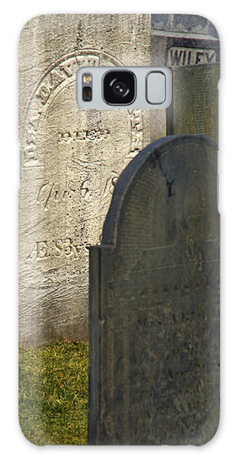 Grave Yard Galaxy S8 Case featuring the photograph Headstones by Caroline Stella