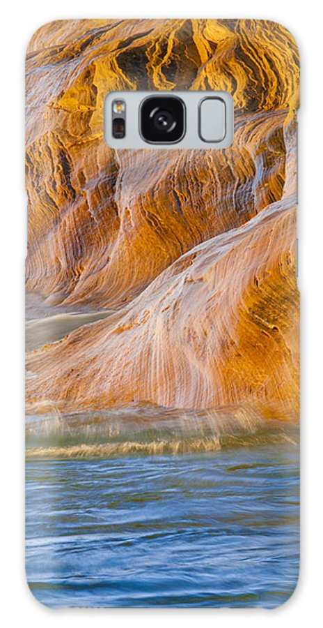 Pictured Rocks National Lakeshore Galaxy S8 Case featuring the photograph Heavenly by Cindy Lindow
