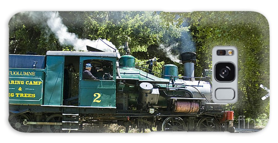 Roaring Camp & Big Trees Galaxy S8 Case featuring the photograph Heisler Steaming by Tim Mulina